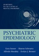 Cover for Psychiatric Epidemiology