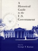 Cover for A Historical Guide to the U.S. Government