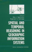 Cover for Spatial and Temporal Reasoning in Geographic Information Systems