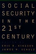 Cover for Social Security in the 21st Century