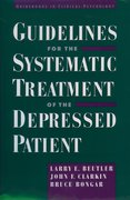 Cover for Guidelines for the Systematic Treatment of the Depressed Patient