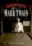 Cover for The Oxford Companion to Mark Twain