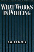 Cover for What Works in Policing