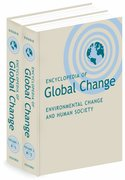 Cover for Encyclopedia of Global Change