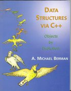 Cover for Data Structures Via C++