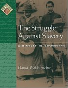 Cover for The Struggle against Slavery
