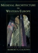 Cover for Medieval Architecture in Western Europe
