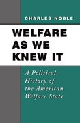 Cover for Welfare As We Knew It