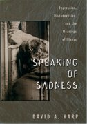 Cover for Speaking of Sadness