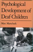 Cover for Psychological Development of Deaf Children