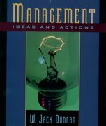 Cover for Management: Ideas and Actions