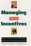 Cover for Managing through Incentives