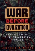 Cover for War before Civilization