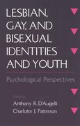 Cover for Lesbian, Gay, and Bisexual Identities and Youth