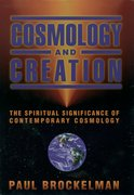 Cover for Cosmology and Creation