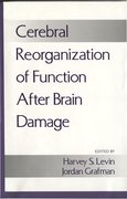 Cover for Cerebral Reorganization of Function after Brain Damage