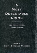 Cover for A Most Detestable Crime