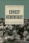 Cover for A Historical Guide to Ernest Hemingway