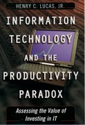 Cover for Information Technology and the Productivity Paradox