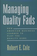 Cover for Managing Quality Fads