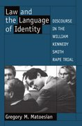 Cover for Law and the Language of Identity