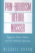 Cover for Pan-Arabism before Nasser