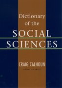 Cover for Dictionary of the Social Sciences
