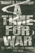Cover for A Time for War