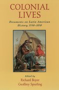 Cover for Colonial Lives