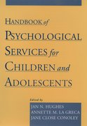 Cover for Handbook of Psychological Services for Children and Adolescents