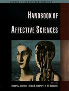 Cover for Handbook of Affective Sciences