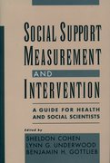 Cover for Social Support Measurement and Intervention