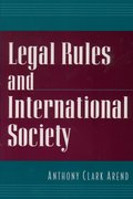 Cover for Legal Rules and International Society