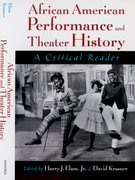 Cover for African American Performance and Theater History