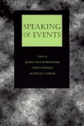 Cover for Speaking of Events