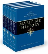 Cover for The Oxford Encyclopedia of Maritime History