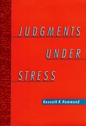 Cover for Judgments Under Stress