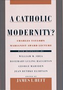 Cover for A Catholic Modernity?