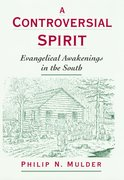 Cover for A Controversial Spirit