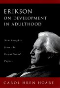 Cover for Erikson on Development in Adulthood