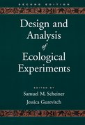 Cover for Design and Analysis of Ecological Experiments