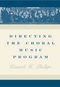 Cover for Directing the Choral Music Program