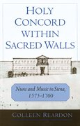 Cover for Holy Concord within Sacred Walls