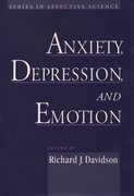 Cover for Anxiety, Depression, and Emotion