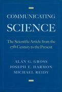Cover for Communicating Science