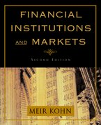 Cover for Financial Institutions and Markets