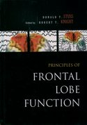 Cover for Principles of Frontal Lobe Function
