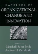 Cover for Handbook of Organizational Change and Innovation
