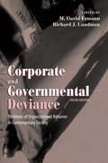 Cover for Corporate and Governmental Deviance