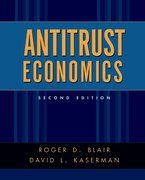 Cover for Antitrust Economics